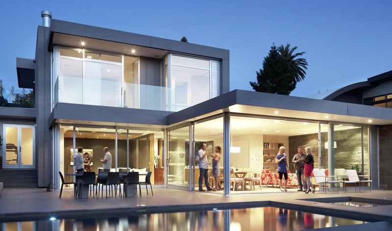 Aluminium windows that we've provided for a home in Sydney
