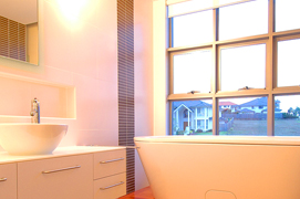 awning windows bathroom