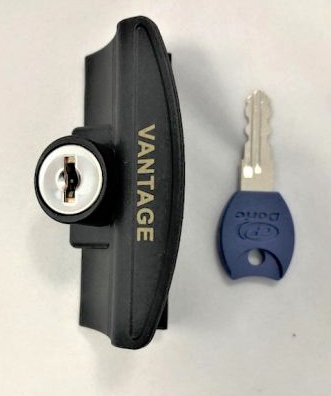 504B Keyed Window Lock Vantage