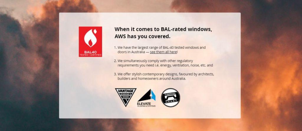 BAl 40 Windows and Doors